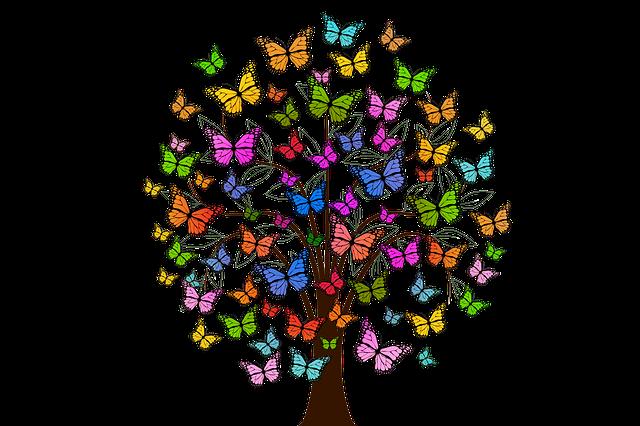 Image showing butterflies interpreting my apport document